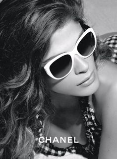 94cfef369b Model Elisa Sednaoui returns to front this seasons Chanel Eyewear Spring  2011 Campaign.