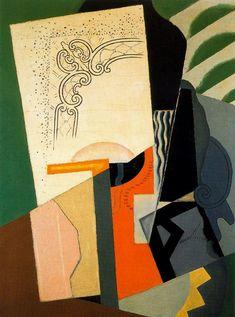 Composición cubista (1919)  Descripción: Óleo sobre lienzo.  Localización: Museo Reina Sofia. Madrid Autor: María Blanchard