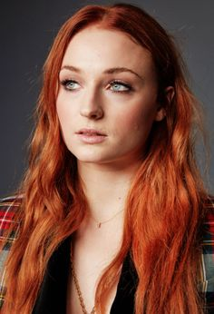 Sophie Turner photographed at EW's Studio during Comic Con 2017.
