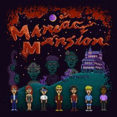 Maniac Mansion Created by Like Likes || FB