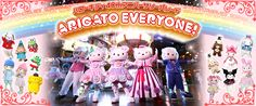 SANRIO PUROLAND   Something strange to visit if you love Sanrio and Hello Kitty