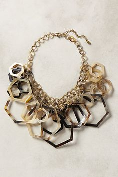 Hedra Bib Necklace - anthropologie.com #anthroregistry