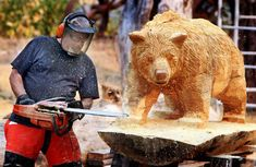 Image result for chainsaw art