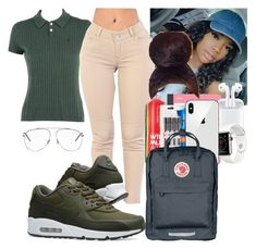 """""""school"""" by makaelahangelah ❤ liked on Polyvore featuring Ralph Lauren, NIKE, WtR, Mead, Paper Mate and Christian Dior"""