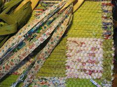 inspir är en blogg om vävning, om att väva mattor, om att väva bruksföremål, om att tänka vävning - vävtankar alltså. Medan, Weaving, Homemade, Blogg, Knitting, Crafts, Rag Rugs, Farmhouse Rugs, Manualidades