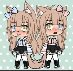 Discover recipes, home ideas, style inspiration and other ideas to try. Cute Anime Character, Cute Characters, Character Outfits, Anime Characters, Bff Drawings, Anime Girl Drawings, Kawaii Drawings, Twin Girls Outfits, Bad Girl Outfits