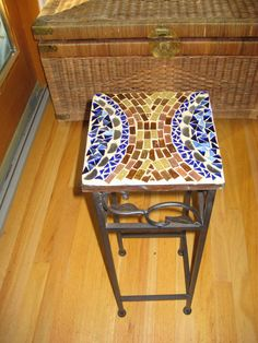 Mosaic Table Top - Lose the Brown (Ick!)