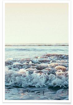 Pacific Ocean als Premium Poster von Leah Flores | JUNIQE
