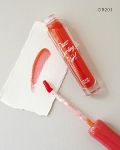 This super pigmented tint applies smoothly like a gel to give you vibrant color that lasts for hours. Browse a variety of lip tint colors at Soko Glam. Asian Makeup Prom, Korean Makeup Tips, Korean Makeup Look, Korean Makeup Tutorials, Perfect Makeup, Cute Makeup, Party Makeup, Dear Darling Tint, Cool Skin Tone