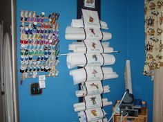 Great idea for keeping your stabelizers organized and at hand !  Thanks to DoubleDee516 of Craftsy !