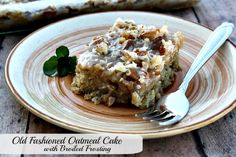 Mommy's Kitchen - Old Fashioned & Country Style Cooking: Old Fashioned Oatmeal Cake W/Broiled Frosting