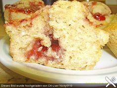 Muffins mit Marmelade
