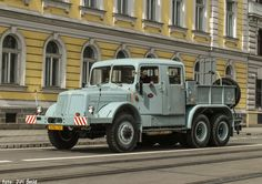 Vintage Trucks, Cars And Motorcycles, Porsche, Transportation, Classic Cars, Military, Retro, Vehicles, Prague