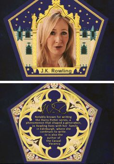 I HAVE to get this Chocolate Frog card!