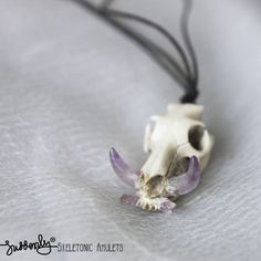 Wild Boar Skull Pendant via Suddenly. Click on the image to see more!