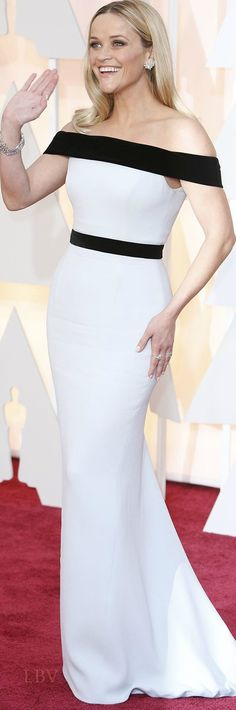 Reese Witherspoon ♥✤ in Tom Ford at the 2015 Oscars. Love Reese Witherspoon.