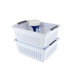 Large Stacking Basket available from Storables.com