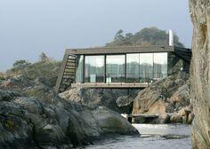 Vildt arkitekttegnet sommerhus i Norge | Bobedre.dk