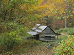 Homestead Cabin Smoky Mountains National Park Tennessee