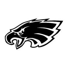 Philadelphia Eagles Team Logo Car Decal Sticker 8X8inch BLACK or WHITE -- $3.00
