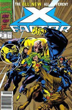 x factor marvel | Factor Vol 1 71 - Marvel Comics Database