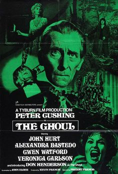 Peter Cushing in 'The Ghoul'.. This was the first Horror I ever saw at the age of about ten, and although by todays standards it's pretty tame, I've never forgotten it