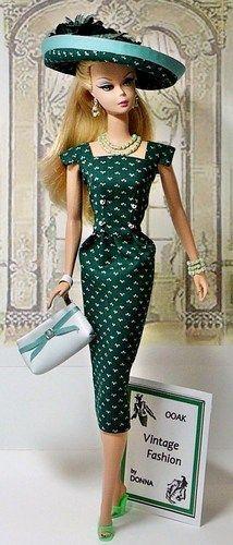 Vintage Design Barbie: