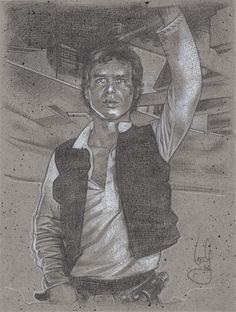 Han Solo by Jeff Lafferty