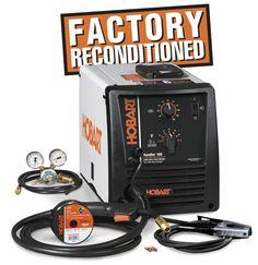 $529.99 - HOBART Handler 190 MIG Wire Welder, Factory Refurbished - Hobart Welding Products