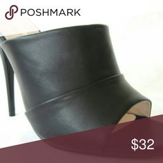 """Black High Heel Slide Mule Stiletto OpenToe Womens New Black High Heel Slide Mule Stiletto OpenToe Womens Shoes Dress Sandals.  Item Description  Super Sexy High Heel Mule Slide.  Featuring a 4.5"""" High Heel Stiletto Pleated Vamp and Single Sole Construction.  Slides are your best friend!  With these Slides Mules you can wear them with any outfit.  Product Info  Brand: Bella Marie Style: Bebe-1 Color: Black Heel Hight: Aprox 4.5 Inches - Single Sole Sizes: 6, 6.5, 7, 7.5, 8, 8.5, 9, 10  New…"""