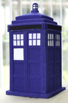 crafty_tardis: Felt TARDIS diy craft doctor who