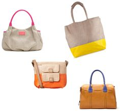 Dip-Dye: Two Toned Bags
