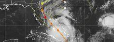 Matthew strengthening over the Bahamas, nears Florida