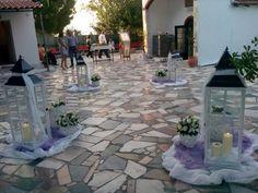 Στολισμός εκκλησίας γάμου εξωτερικός ΑΛΟΗ Flowers Collection
