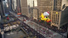 Macy's Thanksgiving Day parade will be live-streamed on YouTube in 360-degree video