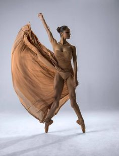 Words can't describe the artistic form that is Misty Copeland; photographed by Nisian Hughes