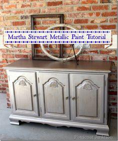 martha stewart-metallic-paint-tutorial-petticoat junktion