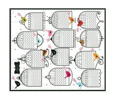 birdcage print