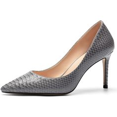 For the Hugo Boss 'Staple P90-L' Anthracite Embossed Leather Pumps Kate Middleton Shoes, Shoes For Less, Princess Kate, Duchess Of Cambridge, Leather Pumps, Hugo Boss, Peep Toe, Heels, Shopping