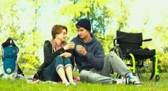 The fault in our stars- new still(⚠SPOILER⚠) THIS MUST BE WHEN GUS IS SICK! HINT HINT..THE WHEEL CHAIR