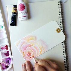 Watercolor roses for beginners More