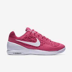 Nike Zoom Cage 2 Womens Tennis Shoes 10 Vivid Pink White 705260 600 #Nike…