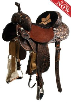 In LOVE with this barrel saddle!