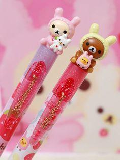 (1) Rilakkuma and Korilakkuma pens. | cute stuff (≧◡≦) | Pinterest