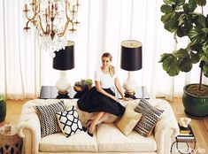 Love the Lamps! At Home With : Lauren Conrad :: This is Glamorous