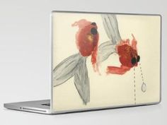 Goldfish Laptop & iPad Skin by Heather Goodwind | Society6