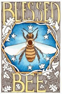 POSTALES DE ABEJAS - BEE POSTCARDS.