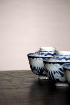 imari ware /19th century hand-painted design of Mt Fuji