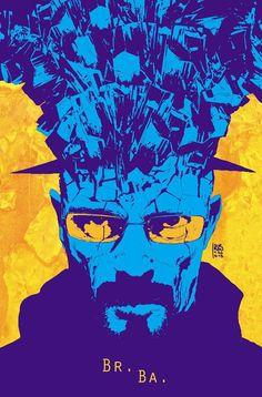 Breaking Bad - line art: Andrea Sorrentino, color: M. Maiolo