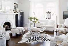We're craving some super cool eclectic touches!!